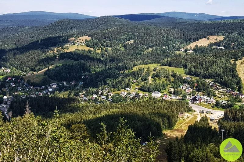 Tanwaldzki Szpiczak widok