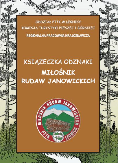 """Odznaka turystyczna """"Miłośnik Rudaw Janowickich"""""""