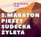 maraton pieszy wsudetach