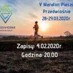 maraton pieszy przedwiośnie