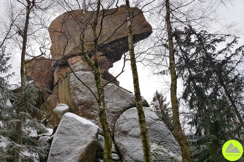 skała fajka wrudawach janowickich
