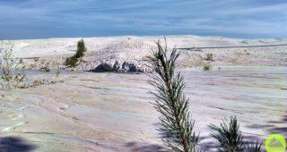 dolnośląska biała pustynia, Dolny Śląsk, kaolin, Nowogrodziec