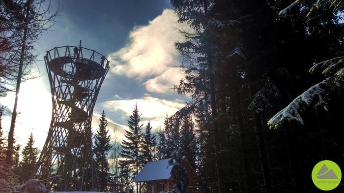 Górskie Wyrypy, wieża na górze Borowa