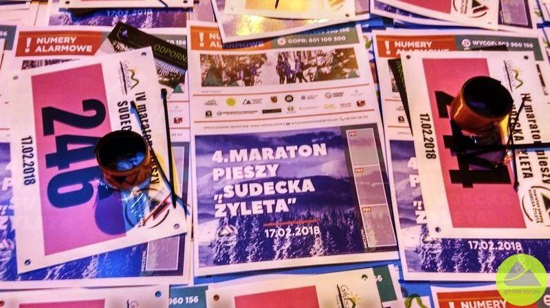 """4. Maraton Pieszy """"Sudecka Żyleta"""""""