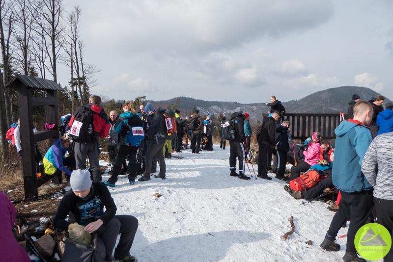 Maraton Pieszy Sudecka Żyleta, Górskie Wyrypy, Góry Suche