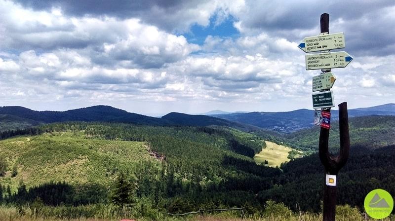 Ruprechticki Szpiczak, górskie wyrypy, turystyka wSudetach, Sudety