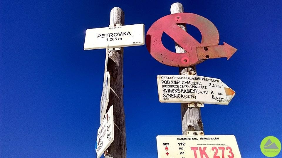 Nieme znaki wKarkonoszach, Karkonosze, Sudety, górskie wyrypy, turystyka