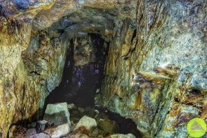 sztolnie dawnej kopalni pirytu naDolnym Śląsku