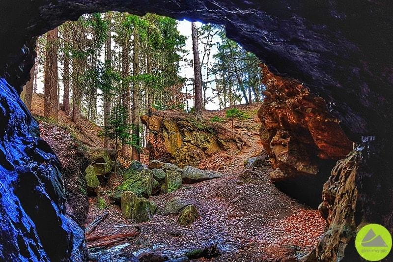 sztolnie dawnej kopalni pirytu wSzklarskiej Porębie