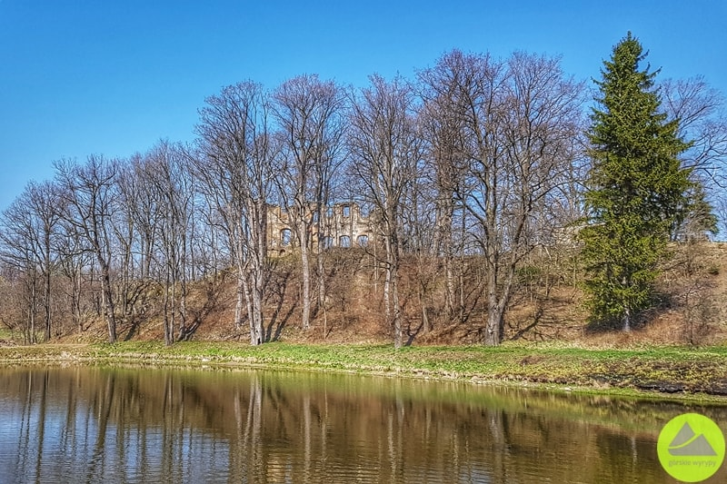 ruiny zamku w Rybnicy