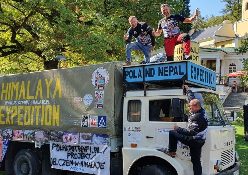 wyprawa Jelczem do Nepalu