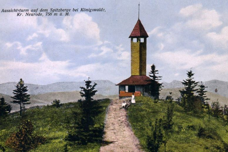 Włodzicka Góra w Sudetach
