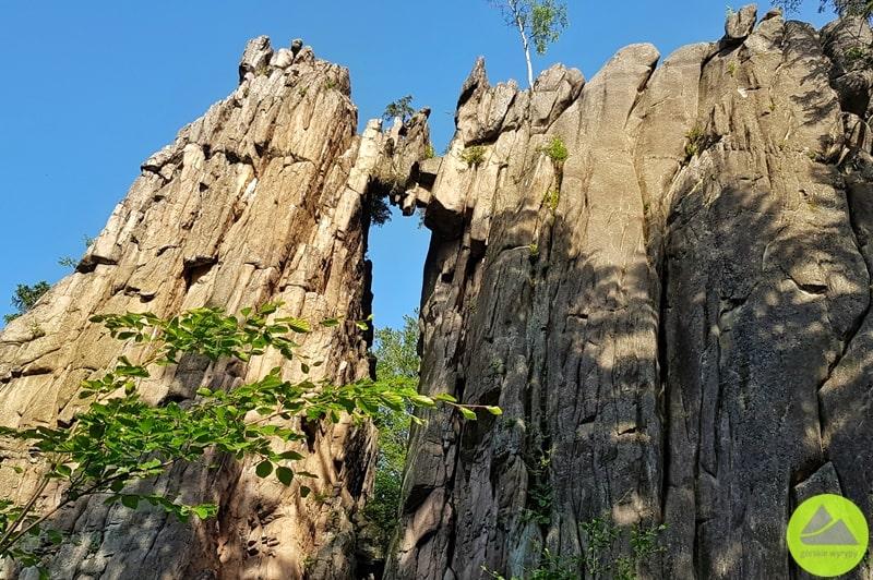 skalny most w rudawach janowickich