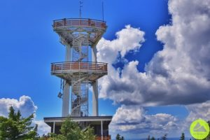 wieże widokowe wSudetach