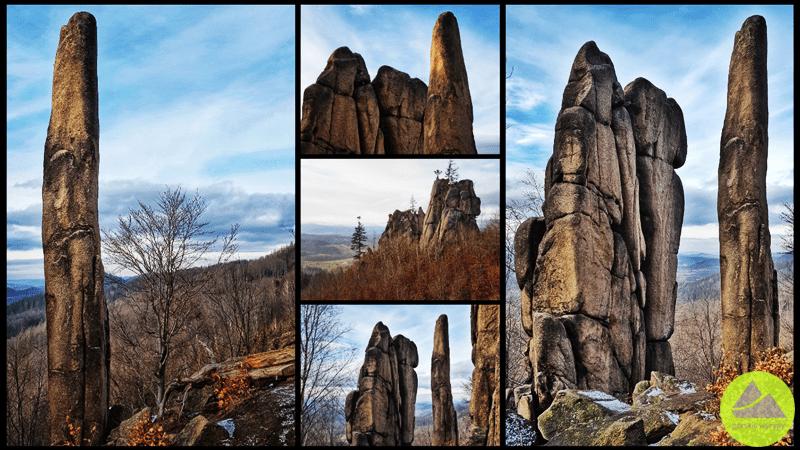 Rudawy Janowickie skała Enis