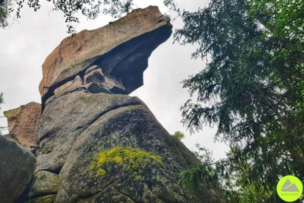 skała fajka w rudawach janowickich
